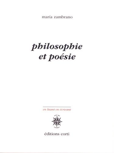 Maria Zambrano - Philosophie et poésie.