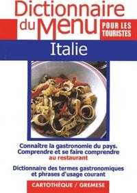 Mariachiara Martinelli - Italie - Pour comprendre et se faire comprendre au restaurant.