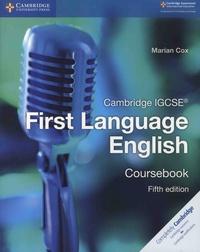 Marian Cox - Cambridge IGCSE First Language English - Coursebook.