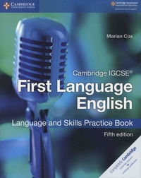 Marian Cox - Cambridge IGCSE First Language English - Language and Skills Practice Book.