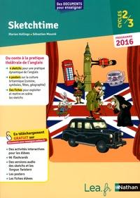Marian Hollings et Sébastien Mounié - Sketchime Cycles 2/3 - Programme 2016.
