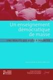 Mariane Frenay - Enseignement démocratique de masse : une réalité qui reste à inventer.