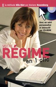 Mariane Rosemberg - Votre régime en un clic. 1 Cédérom