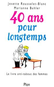 Deedr.fr 40 ANS POUR LONGTEMPS. Le livre anti-tabous des femmes Image