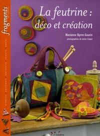 Marianne Byrne-Goarin - La feutrine - Déco et création.