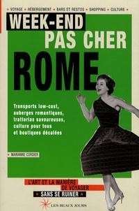 Marianne Cordier - Rome.