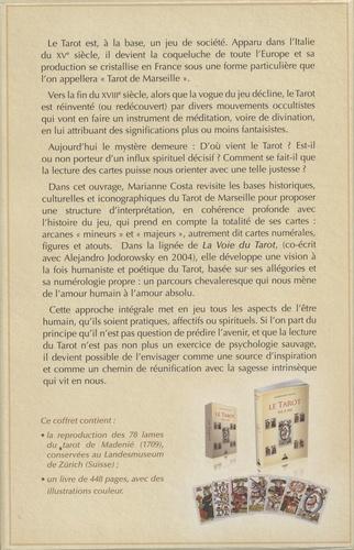 Le tarot pas à pas. Histoire, iconographie, interprétation, lecture  avec 1 Jeu