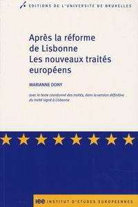 Deedr.fr Après la réforme de Lisbonne - Les nouveaux traités européens Image