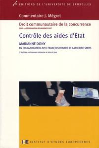 Marianne Dony - Contrôle des aides d'Etat.