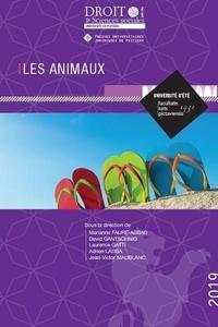 Marianne Faure-Abbad et David Gantschnig - Les animaux.