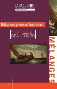 Lemememonde.fr Obligations, procès et droit savant - Mélanges en l'honneur de Jean Beauchard Image