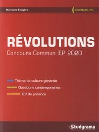 Télécharger des livres sur Google au format pdf Révolutions  - Concours commun IEP, questions contemporaines