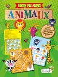 Marianne Garcia - Bloc de jeux animaux.