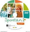 Marianne Hoock-Douilly et Aline Wegener - Spontan neu 2 Allemand A2 palier 1, 2e année LV1 LV2 - CD de remplacement. 1 DVD