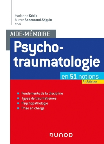 Psychotraumatologie 3e édition