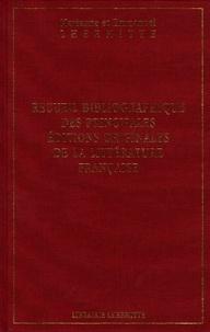 Marianne Lhermitte et Emmanuel Lhermitte - Recueil bibliographique des principales éditions originales de la littérature française.