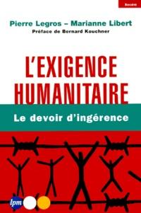 Histoiresdenlire.be L'exigence humanitaire. - Le devoir d'ingérence Image