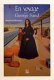Marianne Miclon et Gilles Miclon - En voyage avec George Sand.