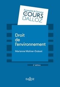 Droit de l'environnement - Marianne Moliner-Dubost pdf epub
