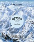 Marianne Novat et Frédérique Novat - Les plans des pistes - Les domaines skiables de France dessinés par Pierre Novat.