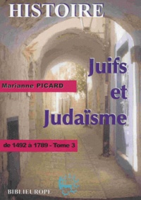 Accentsonline.fr Juifs et judaïsme - Tome 3, De 1492 à 1789 Image