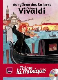 Marianne Vourch et Anna Griot - Au rythme des saisons d'Antonio Vivaldi. 1 CD audio MP3