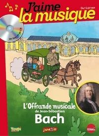 Marianne Vourch - L'Offrande musicale de Jean-Sébastien Bach. 1 CD audio