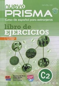 Mariano Del Mazo et Julian Munoz - Nuevo prisma - Libro de ejercicios nivel C2. 1 CD audio MP3