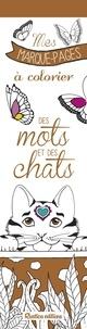 Marica Zottino - Des mots et des chats - Mes marque-pages à colorier.