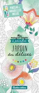 Marica Zottino - Jardin des délices - Avec pinceau et aquarelles inclus.