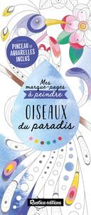 Marica Zottino - Oiseaux du paradis - Avec pinceau et aquarelles.