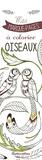 Marica Zottino - Oiseaux - Mes marque-pages à colorier.