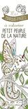Marica Zottino - Petit peuple de la nature - Mes marque-pages à colorier.