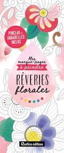 Marica Zottino - Rêveries florales - Avec pinceau et aquarelles inclus.