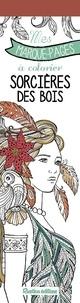 Marica Zottino - Sorcières des bois - Mes marque-pages à colorier.