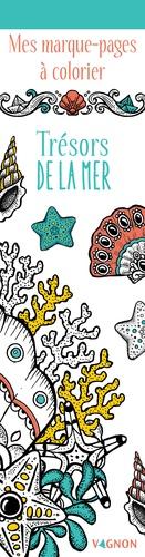 Marica Zottino - Trésors de la mer - Mes marques-pages à colorier.