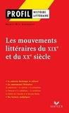 Marie-Ève Thérenty - Profil - Les mouvements littéraires du XIXe au XXe siècle.