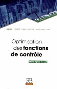 Organisation et évolution des fonctions de contrôle - Marie-Agnès Nicolet |