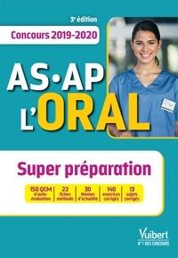 Téléchargement gratuit des livres de vente Concours AS-AP l'oral  - Aide-soignant, Auxiliaire de puériculture 9782311206340 par Marie Aillet, Emilie Dhérin