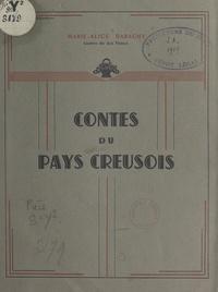 Marie-Alice Barachy - Contes du pays creusois.
