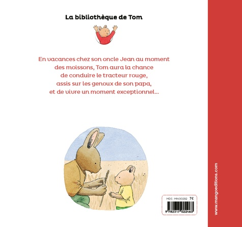 La bibliothèque de Tom  A bord du tracteur rouge