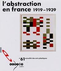 Marie-Aline Prat - L'abstraction en France (1919-1939) - Avec diapositives.