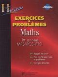 Marie Allano-Chevalier et Xavier Oudot - Maths 1ère année MPSI-PCSI-PTSI - Exercices & problèmes.