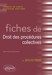 Histoiresdenlire.be Fiches de procédures collectives - Rappels de cours et exercices corrigés Image