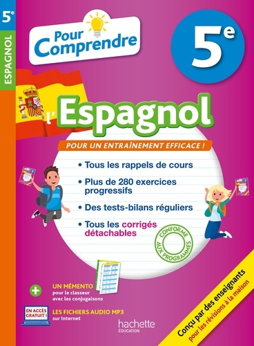 Pour Comprendre L Espagnol 5e Grand Format