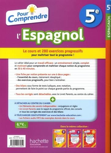 Pour Comprendre L Espagnol 5e De Marie Ange Faus Richiero Grand Format Livre Decitre