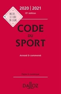 Marie Anglade et Nicolas Blanchard - Code du sport - Annoté & commenté.