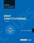 Marie-Anne Cohendet - Droit constitutionnel - Conseils de méthodes, sujets d'examens et exercices corrigés.
