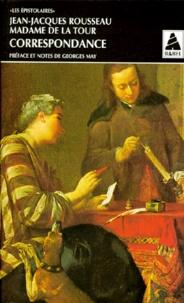 Marie-Anne de La Tour et Jean-Jacques Rousseau - .