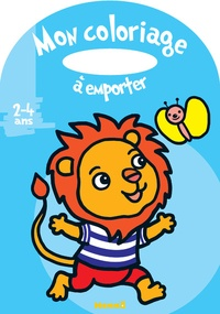 Marie-Anne Didierjean - Mon coloriage à emporter Lion.